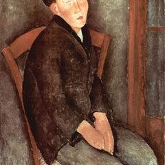 The Museum Outlet - Modigliani - Sitting boy with hat