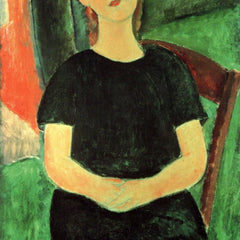 The Museum Outlet - Modigliani - Sitting girl