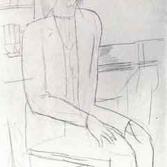 The Museum Outlet - Modigliani - Sitting man