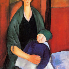 The Museum Outlet - Modigliani - Sitting woman with child