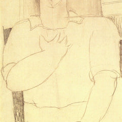 The Museum Outlet - Modigliani - Sitting young man