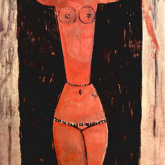 The Museum Outlet - Modigliani - Standing Karyatide