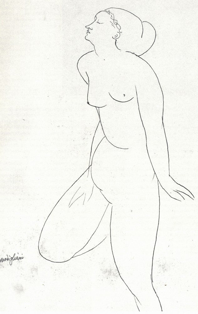 The Museum Outlet - Modigliani - Standing Nude [2]