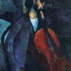 The Museum Outlet - Modigliani - The Cellist