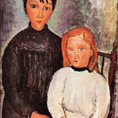 The Museum Outlet - Modigliani - Two children