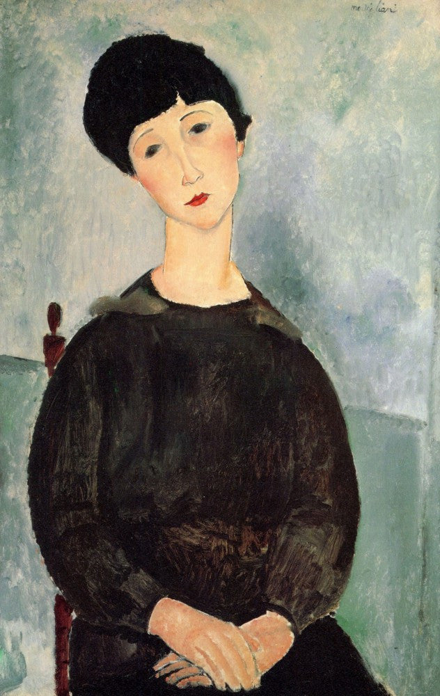 The Museum Outlet - Modigliani - Young girl