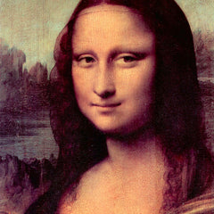 The Museum Outlet - Mona Lisa (Detail) by Da Vinci