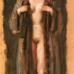 100% Hand Painted Oil on Canvas - Monna Vanna by Franz von Stuck