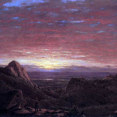 The Museum Outlet - Morning by Frederick Edwin Church