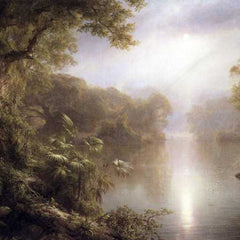 The Museum Outlet - Morning in the tropics by Frederick Edwin Church