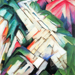 The Museum Outlet - Mountains - landscape by Franz Marc