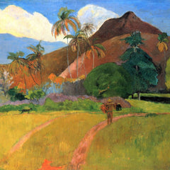 The Museum Outlet - Mountains in Tahiti by Gauguin