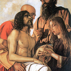 The Museum Outlet - Mourning of Christ with Joseph, Nicodemus and Mary Magdalene by Bellini