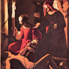 The Museum Outlet - Mourning of St. Sebastian by Irene [1] by La Tour
