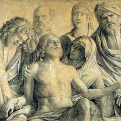 The Museum Outlet - Mourning the dead Christ by Bellini