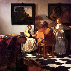 The Museum Outlet - Musical Trio by Vermeer