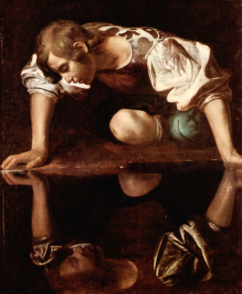 The Museum Outlet - Narcissus by Caravaggio
