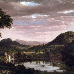 The Museum Outlet - New England Landscape by Frederick Edwin Church