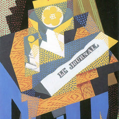 The Museum Outlet - Newspapers and fruit bowl by Juan Gris