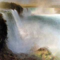 The Museum Outlet - Niagara Falls, from the American side by Frederick Edwin Church