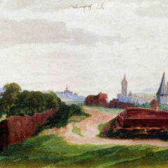 The Museum Outlet - Nuremberg, the western part of the city from the south by Durer