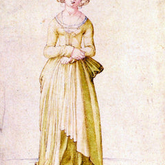 The Museum Outlet - Nuremberg virgin in dance dress by Durer