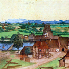 The Museum Outlet - Nuremberg, wire-pullers at the mill Pegnitz by Durer