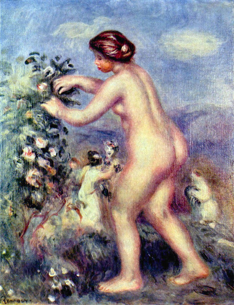 The Museum Outlet - Ode to flower (after Anakreon) by Renoir