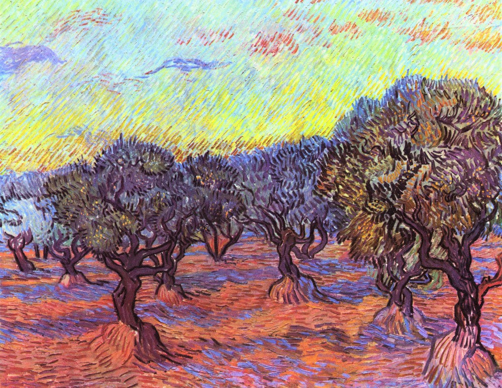 The Museum Outlet - Olive Trees [2] by Van Gogh