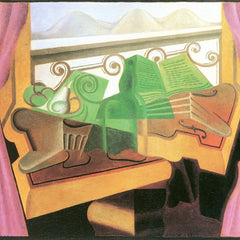 The Museum Outlet - Open windows with hills by Juan Gris