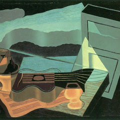 The Museum Outlet - Overlooking the bay by Juan Gris