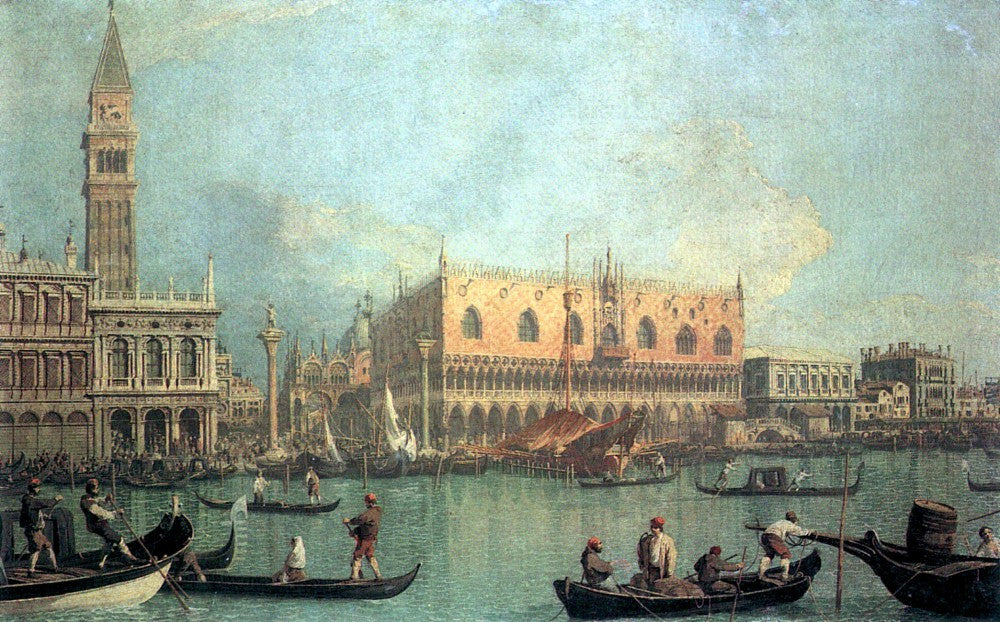 The Museum Outlet - Palazzo Ducale by Canaletto