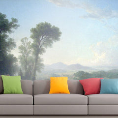 Roshni Arts - Curated Art Wall Mural - Pastoral Landscape by Asher Brown Durand | Self-Adhesive Vinyl Furnishings Decor Wall Art