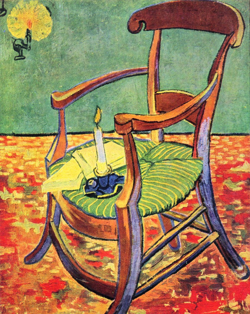 The Museum Outlet - Paul Gauguin's chair by Van Gogh