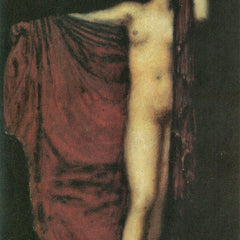 100% Hand Painted Oil on Canvas - Phyrne by Franz von Stuck