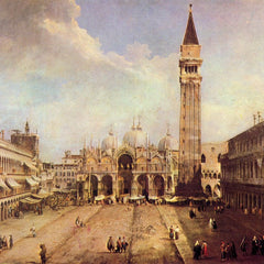 The Museum Outlet - Piazza San Marco [1] by Canaletto