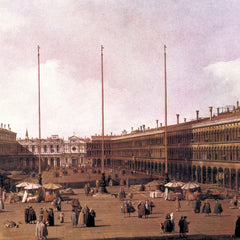 The Museum Outlet - Piazza San Marco [2] by Canaletto