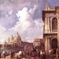 The Museum Outlet - Piazza in Venice by Canaletto