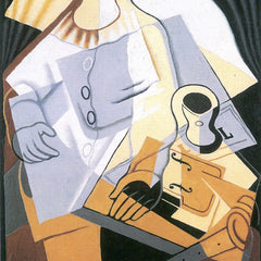 The Museum Outlet - Pierrot [1] by Juan Gris