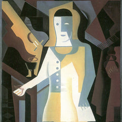 The Museum Outlet - Pierrot [3] by Juan Gris