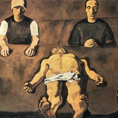 100% Hand Painted Oil on Canvas - Piety by Albin Egger-Lienz