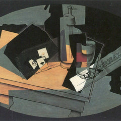 The Museum Outlet - Playing cards and siphon by Juan Gris
