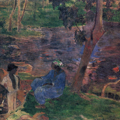 The Museum Outlet - Pond Shore by Gauguin