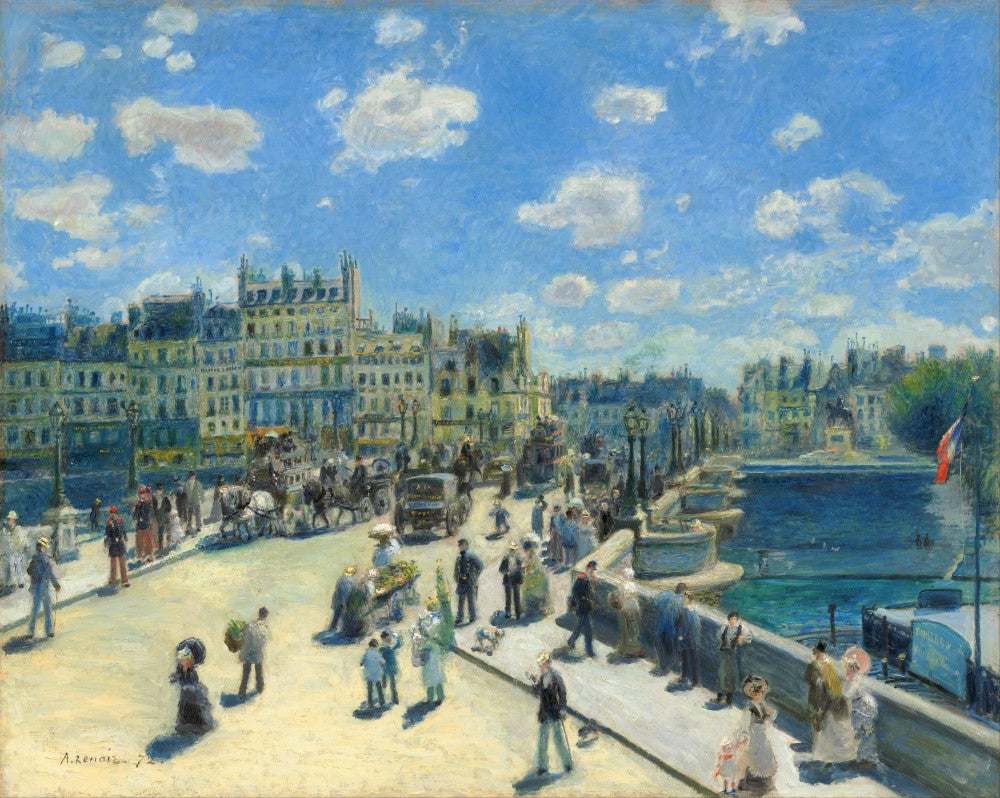 The Museum Outlet - Pont Neuf, Paris by Renoir