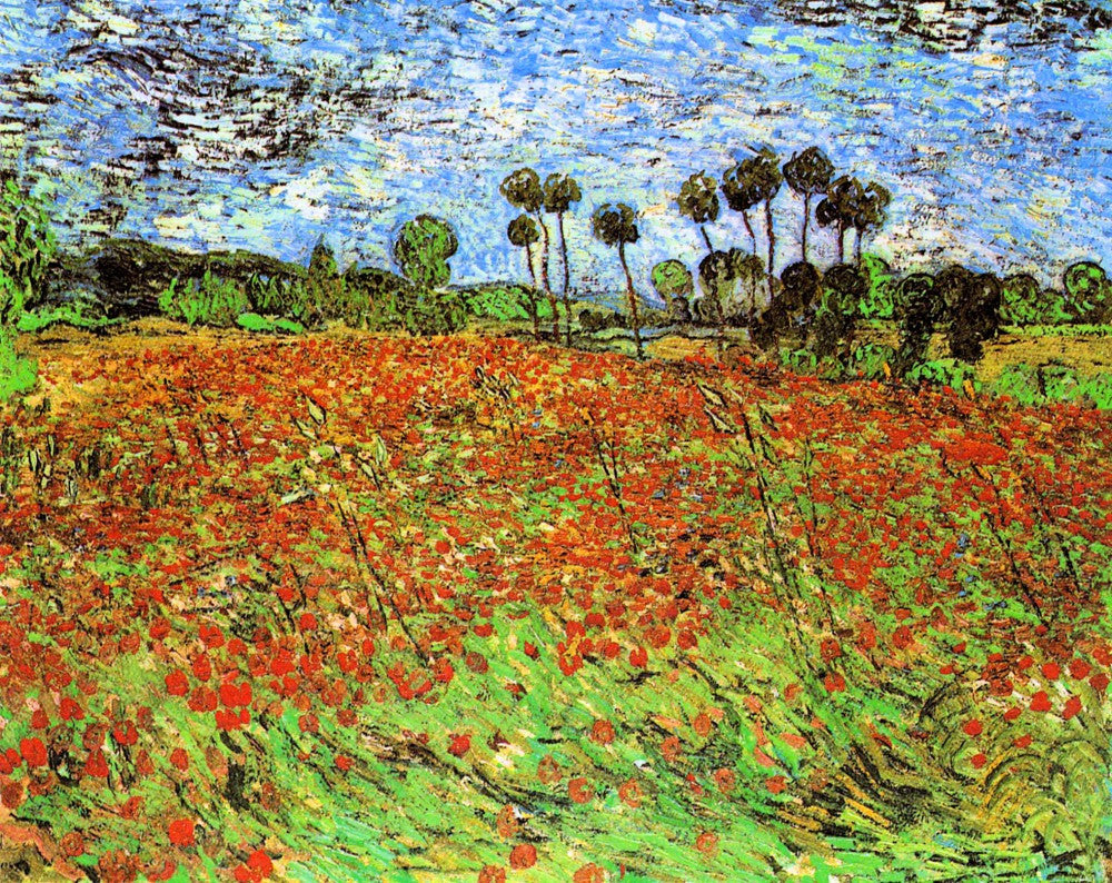 The Museum Outlet - Poppy Fields by Van Gogh