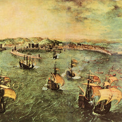 The Museum Outlet - Port of Naples by Pieter Bruegel