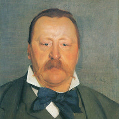 100% Hand Painted Oil on Canvas - Portrait of Alfred Delisle by Felix Vallotton