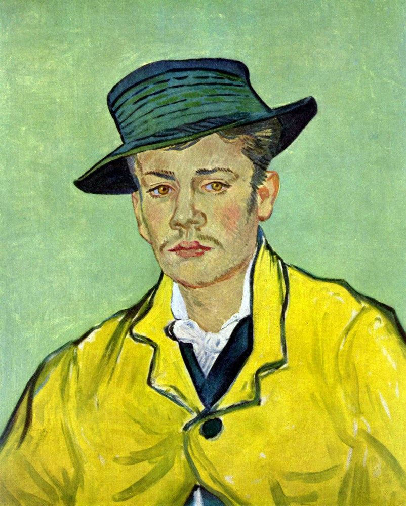 The Museum Outlet - Portrait of Armand Roulin by Van Gogh