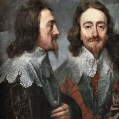 The Museum Outlet - Portrait of Charles I, King of England, detail [2] by Van Dyck