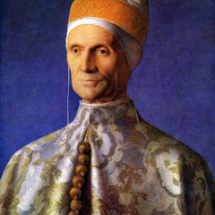 The Museum Outlet - Portrait of Dogen Leonardo Loredan by Bellini